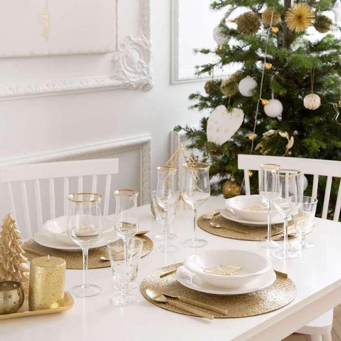 ▷ 1001 + Ideen für Weihnachtstischdeko als Ergänzung der fröhlichen ...