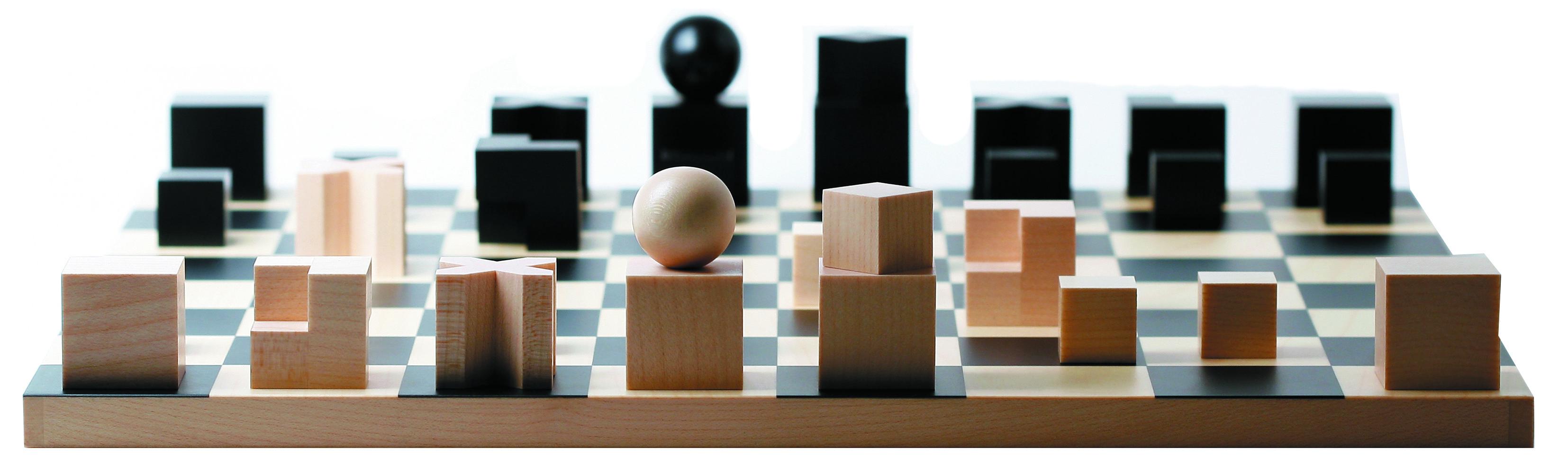 Naef bauhaus chess set naef toys pinterest chess sets - Bauhaus chess board ...
