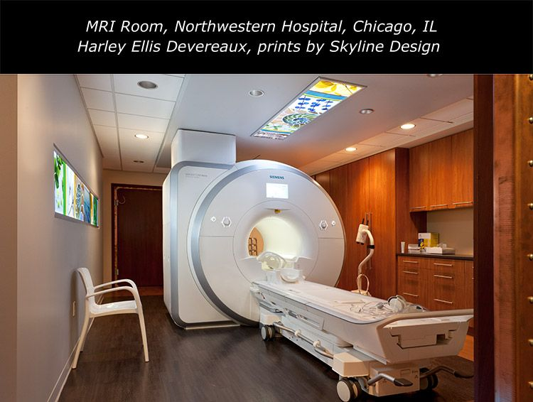 MRI Room Northwestern Memorial Hospital Skyline Design Installation ...