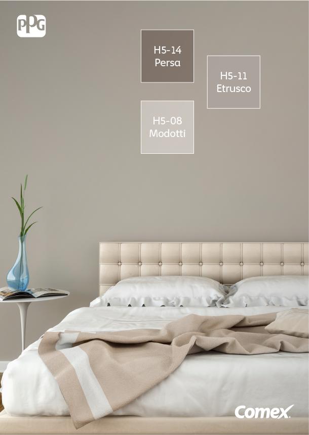 Combinar varios tonos neutros en un mismo espacio da como for Como combinar colores de pintura