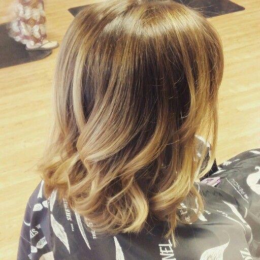 Jill Odell at fringe hair salon