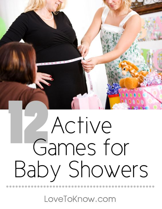 Active Games for Baby Showers