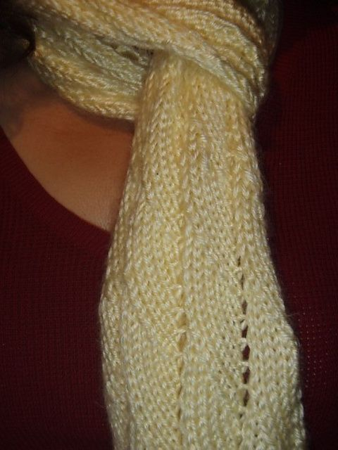 Ravelry: Breaking Waves Scarf pattern by Azadeh