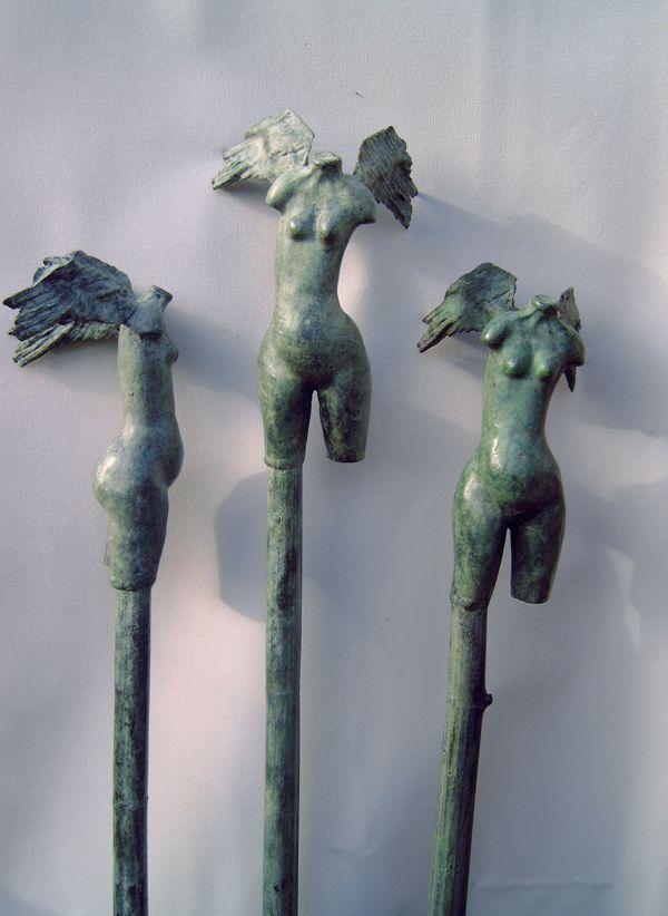 bronze sculpture angels by ad renders winged pinterest engelchen skulptur und denkmal. Black Bedroom Furniture Sets. Home Design Ideas