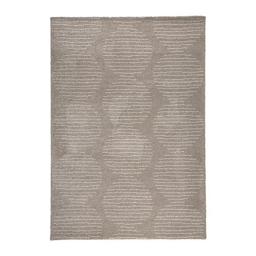 IKEA - LILLERÖD, Teppe, lang lugg, Den tette, tykke luggen demper lyd og kjennes myk under føttene.Slitesterkt, flekkbestandig og lettstelt, siden teppet er laget av syntetfiber.