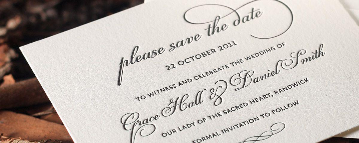 Grace Collection by Deciduous Press Wedding invites Pinterest