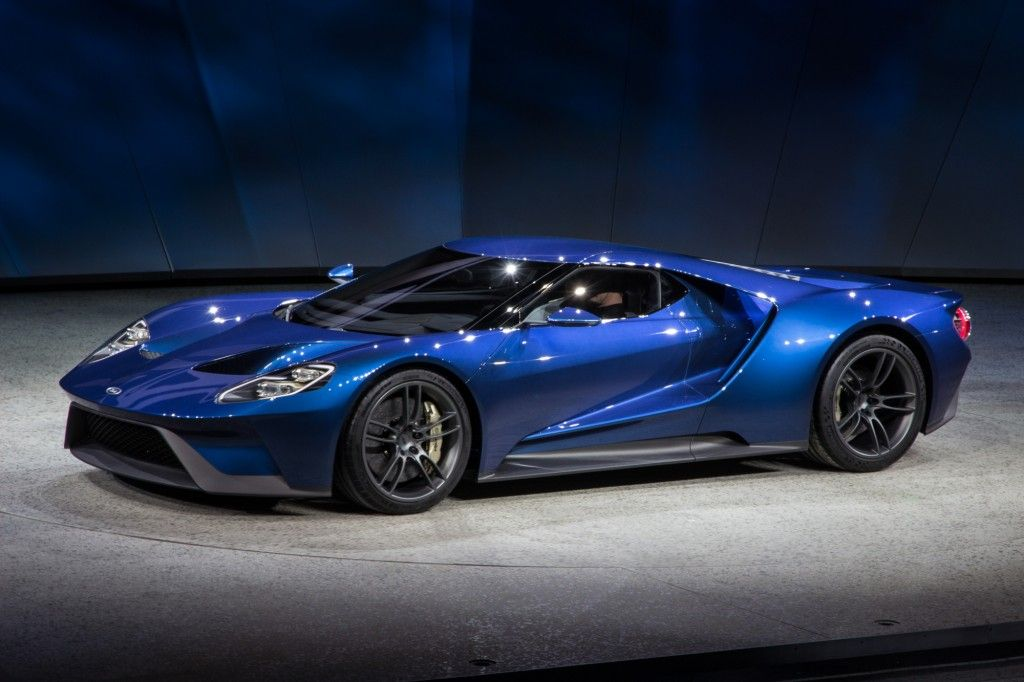 ford gt 2015 | New Ford GT, 2015 Detroit Auto Show | V-Cars ...