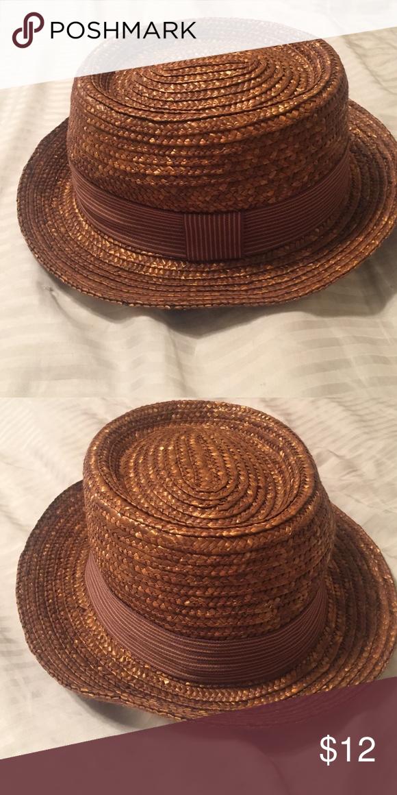 b740559f57e Trendy summer straw hat!! Cute straw brown hat