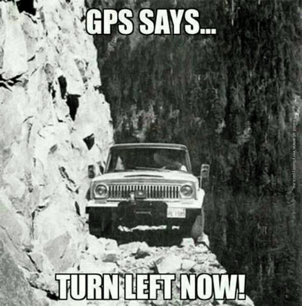 Never Trust The Gps Dangerous Roads Pictures Photo