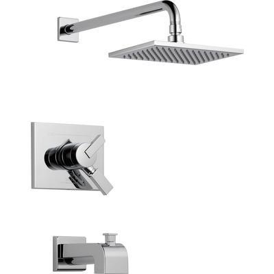 Delta - Vero - Garniture pour mitigeur de douche et baignoire, 1 jet