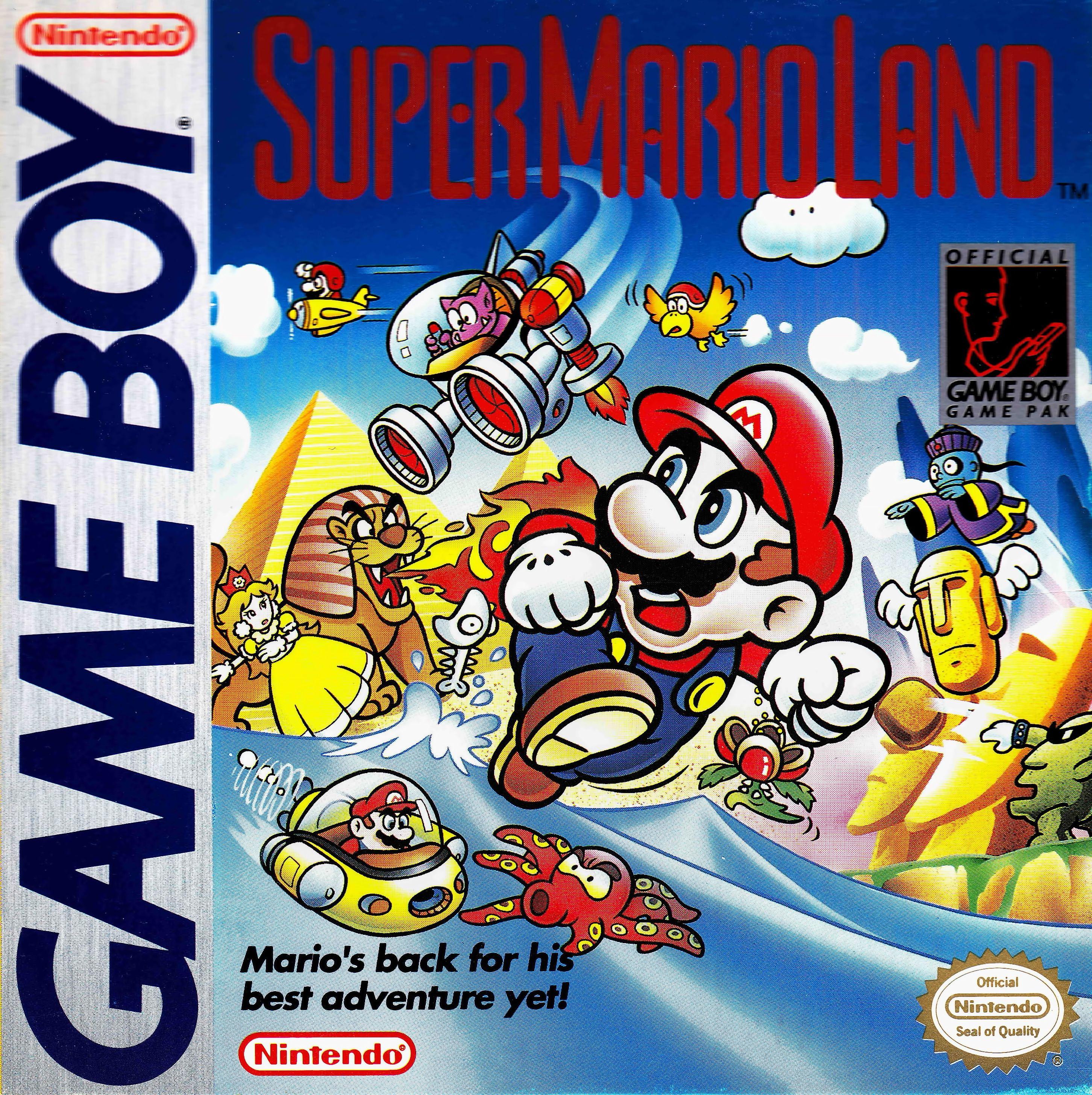 Super Mario Land Super Mario Land Gameboy Games Gameboy