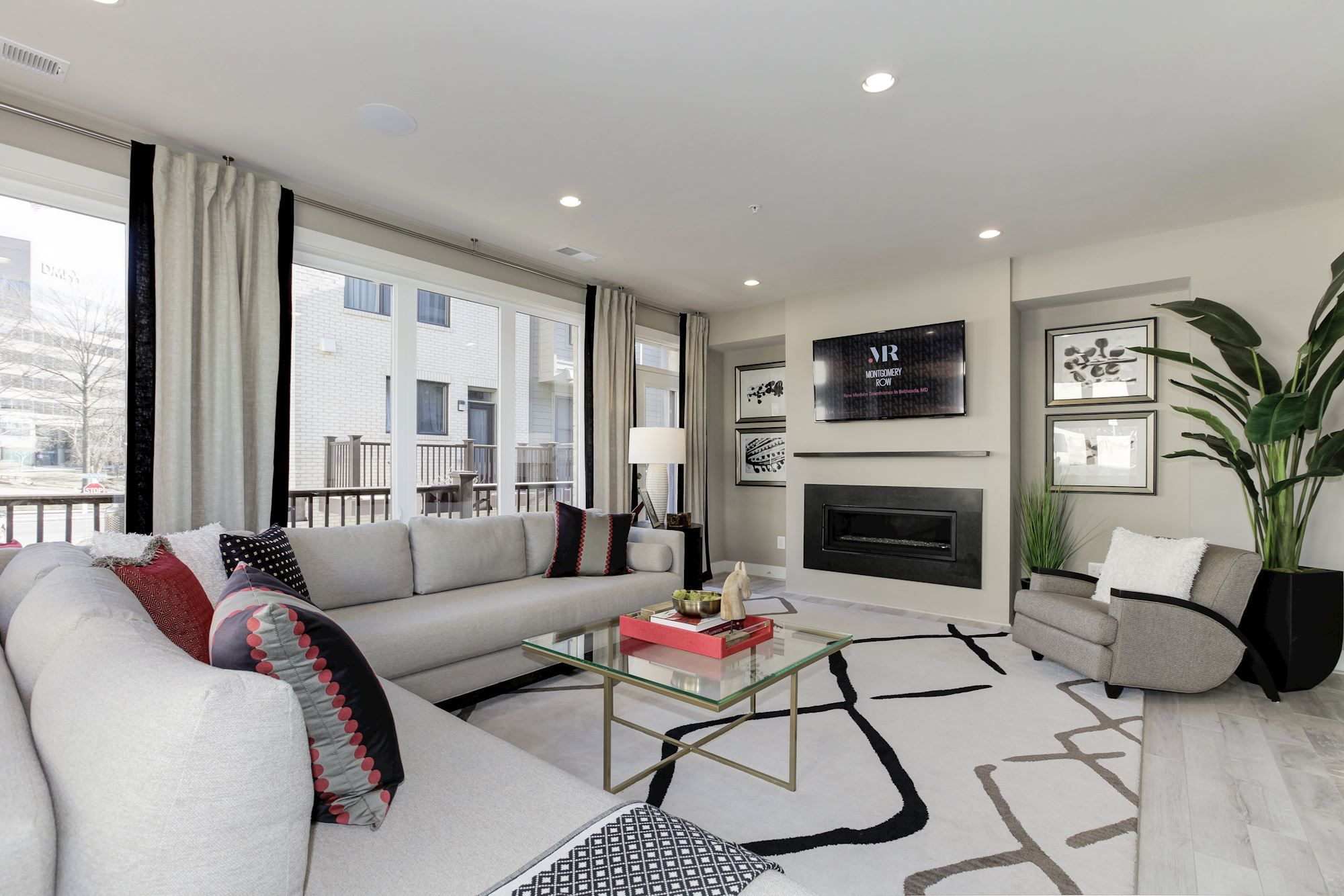 Bright And Spacious Contemporary Living Room Featured In Eya S