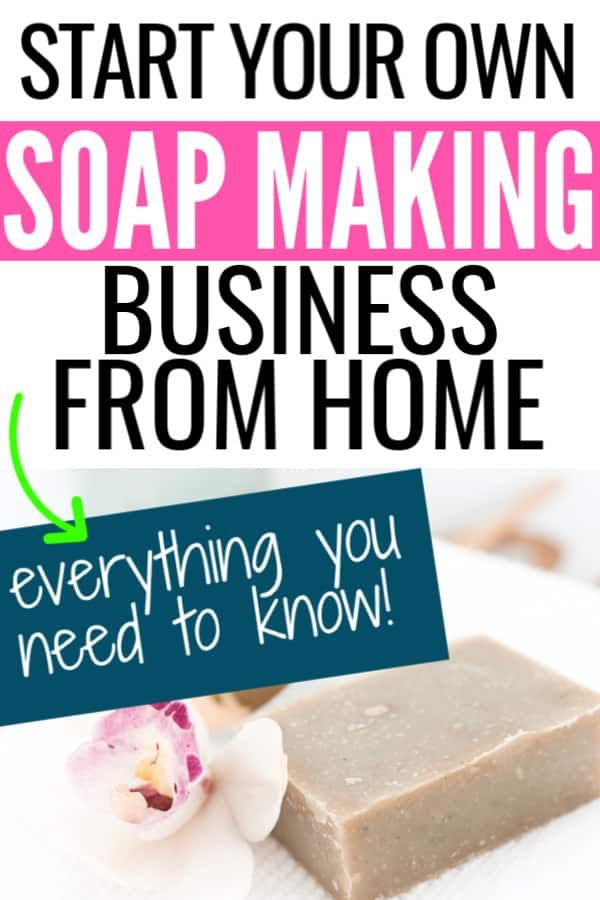 How To Make Money Making Soap