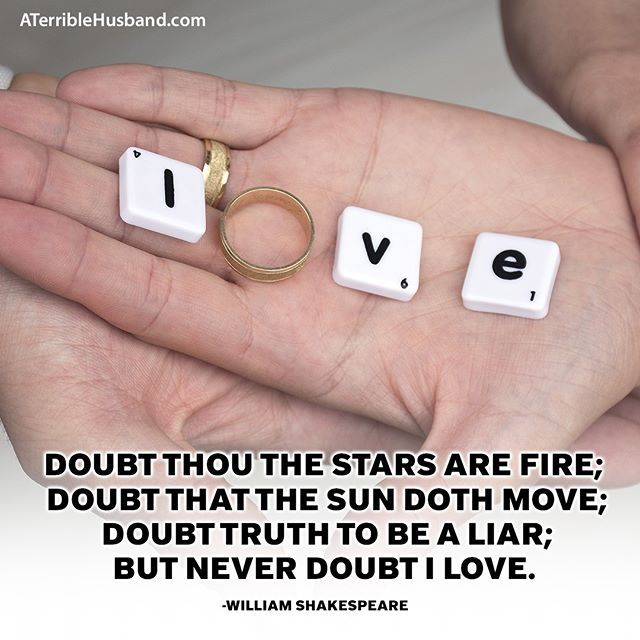 Doubt thou the stars are fire; Doubt that the sun doth ...