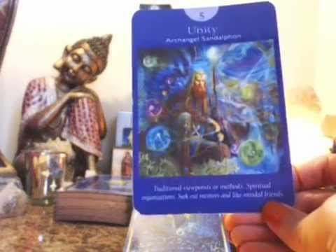 Pisces June 2015 Angelic Tarot, Oracle Card Reading