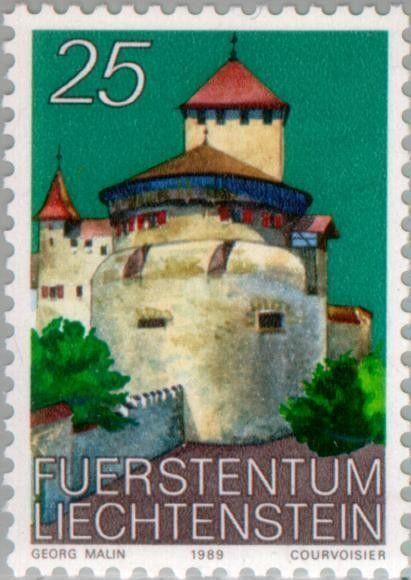Sello: Castle Vaduz (Liechtenstein) (Castle Vaduz) Mi:LI 962,Yt:LI 903,Zum:LI 903