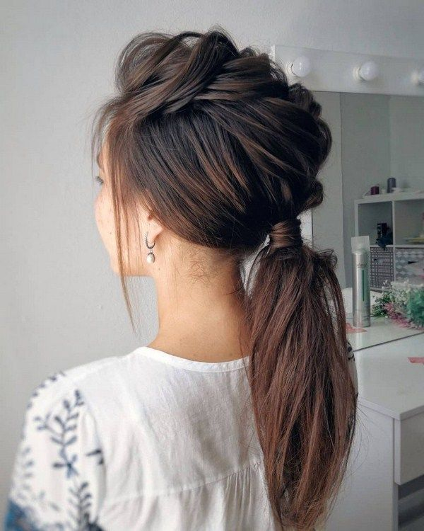 60 The Latest Idea Of The Evening Hairstyle 2018 Evening Hairstyle Latest New Evening Hairstyles Hair Styles Hairstyle