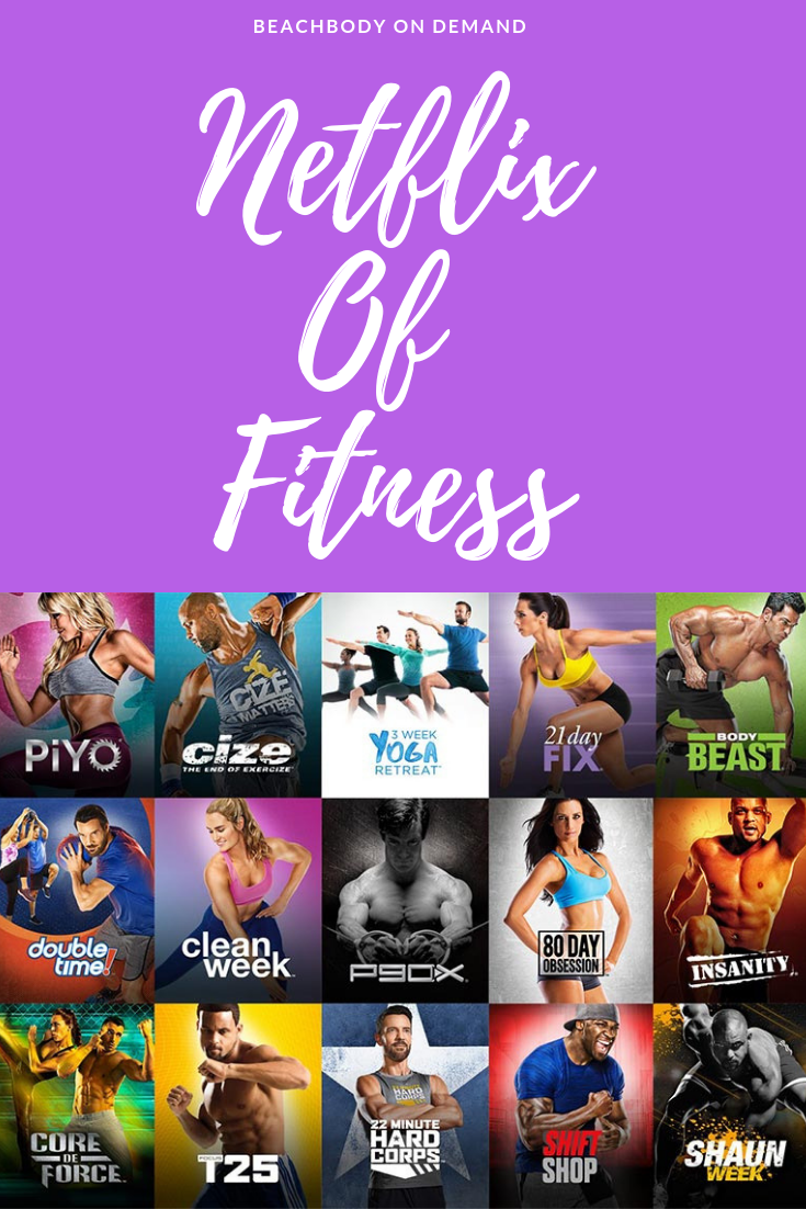 Netflix Of Fitness Is Here Beachbody On Demand Try For Free