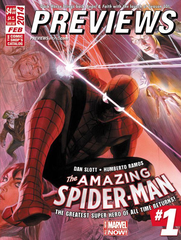 1st Look: ALEX ROSS Covers AMAZING SPIDER-MAN #1 | Newsarama.com
