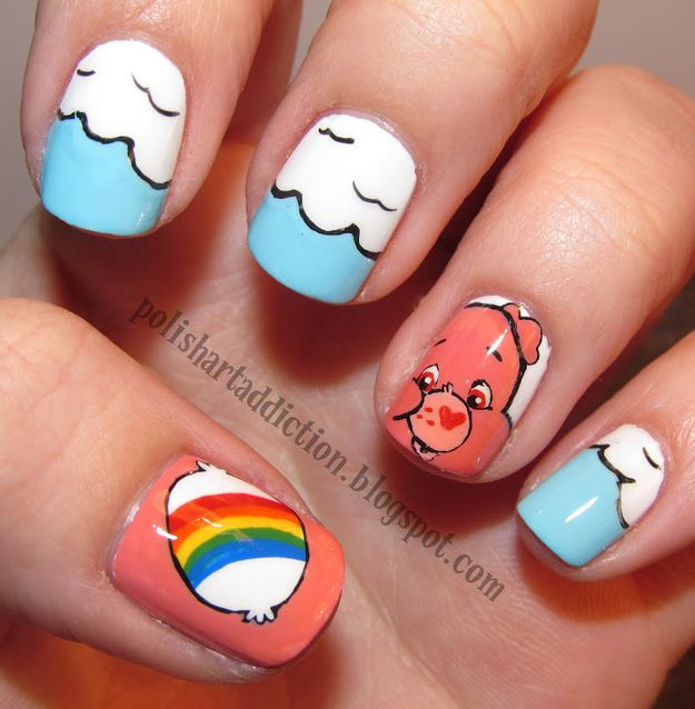 31 Images Of Gorgeously Geeky Nail Art Beauty Nails Nails