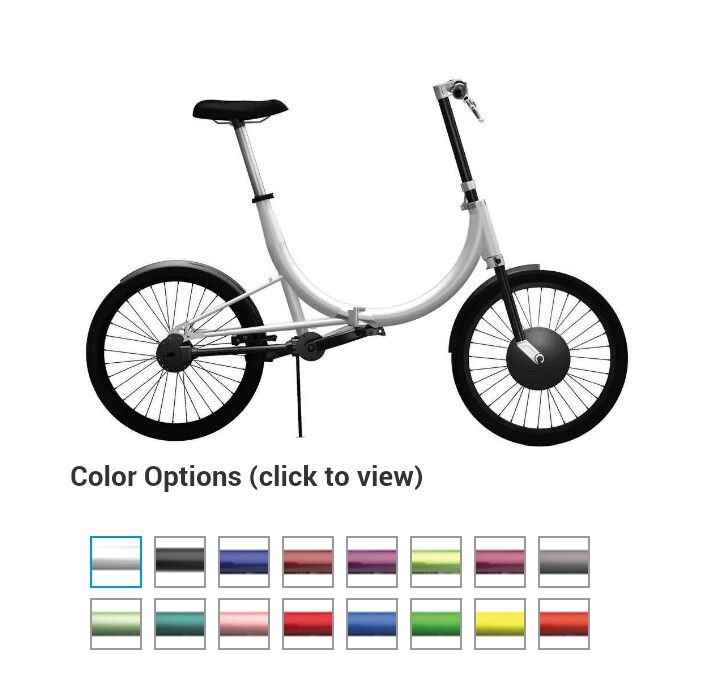 Collapsible electric bike from Conscious Commuters
