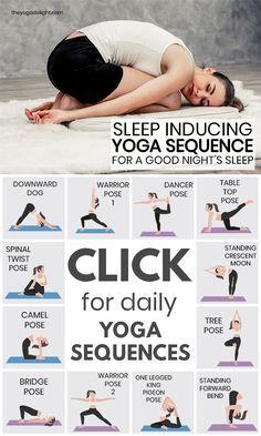 sleepinducing yoga sequence for a good night's sleep