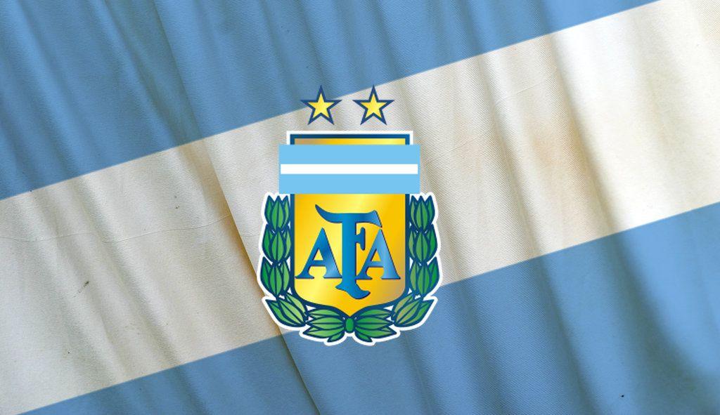 Argentina Logo Flag Argentina Logo Football Team Logos National Football Teams