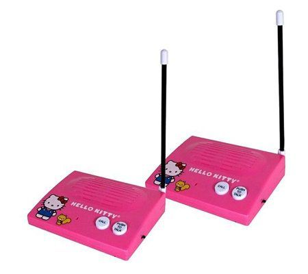 Hello Kitty Wireless Intercom Set
