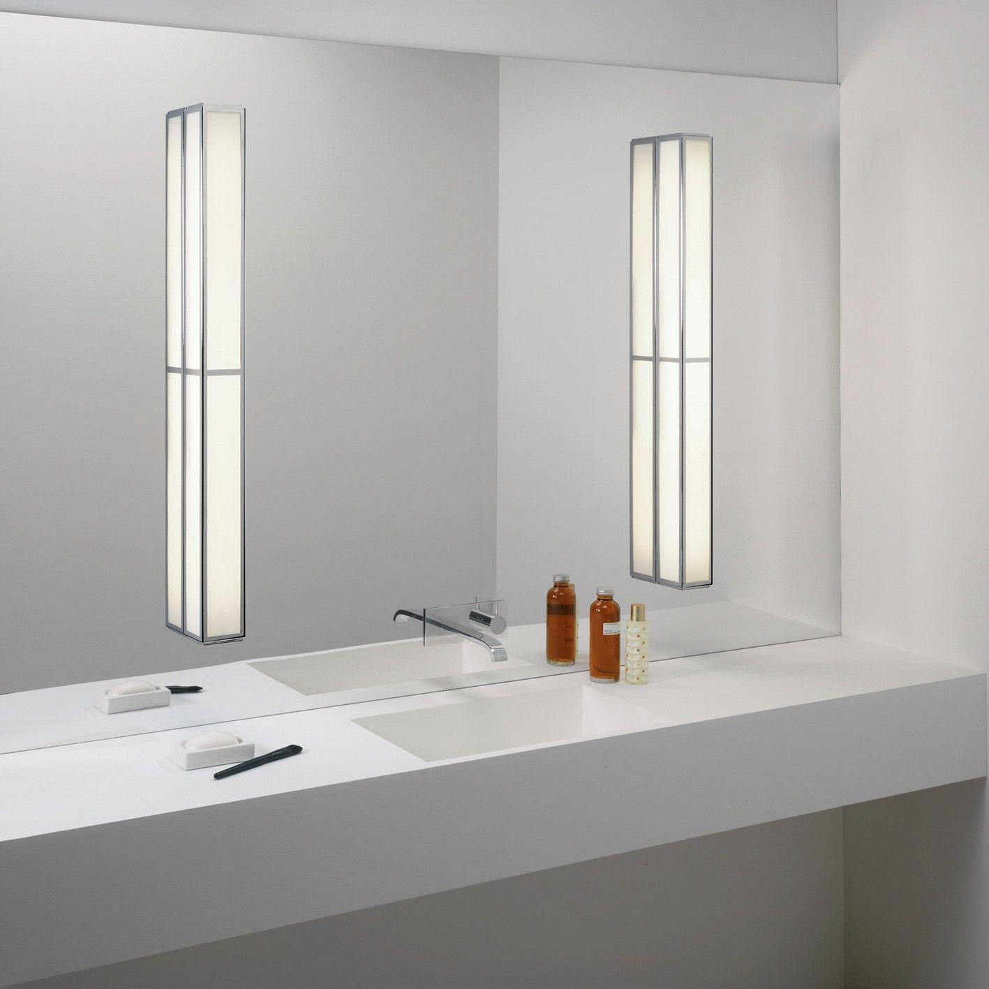 Image result for modern bathroom mirror lighting | baños | Pinterest ...