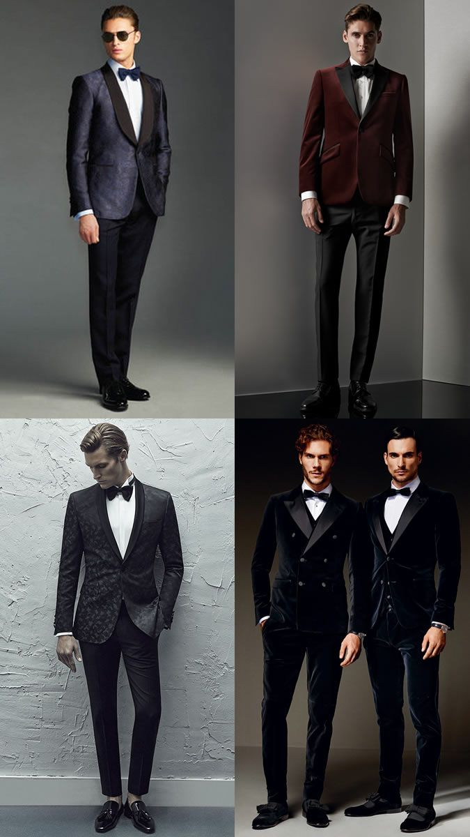 Men S Black Tie Alternative Creative Dress Code Outfit Inspiration Lookbook