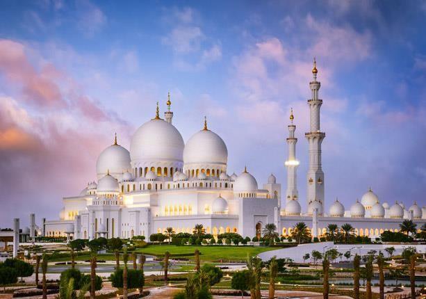 مسجد الشيخ زايد خامس أكبر مساجد العالم وزينة أبوظبى Sheikh Zayed Grand Mosque Grand Mosque Mosque