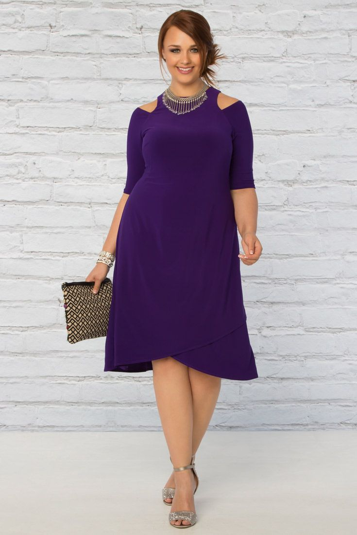 With Adjule Sleeves And A Flirty Skirt You Ll Look Fab In Our Plus Size Clothingplus