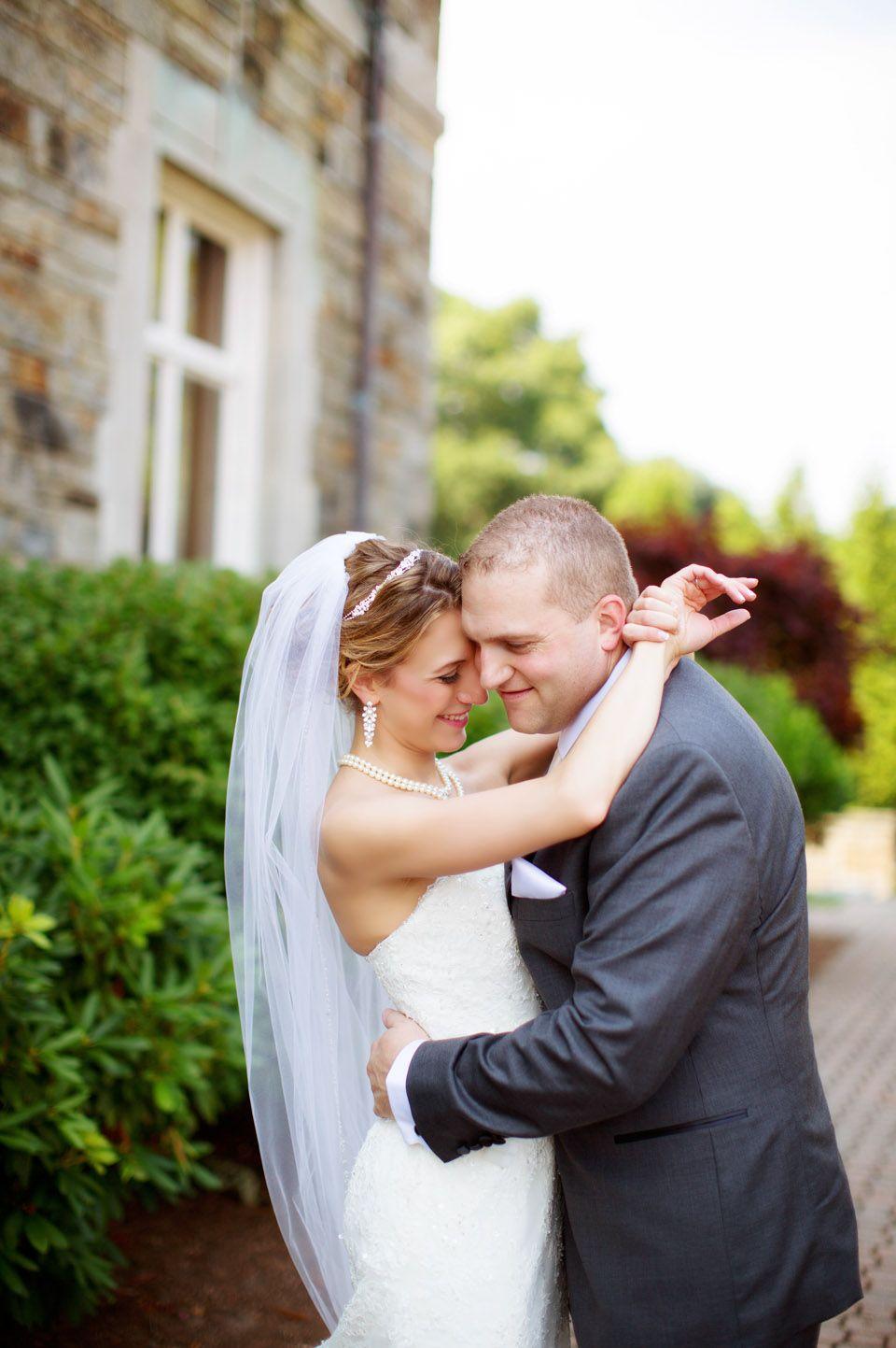 Sarah und Domenic\'s Hochzeit in der historischen Aldrich Mansion von ...