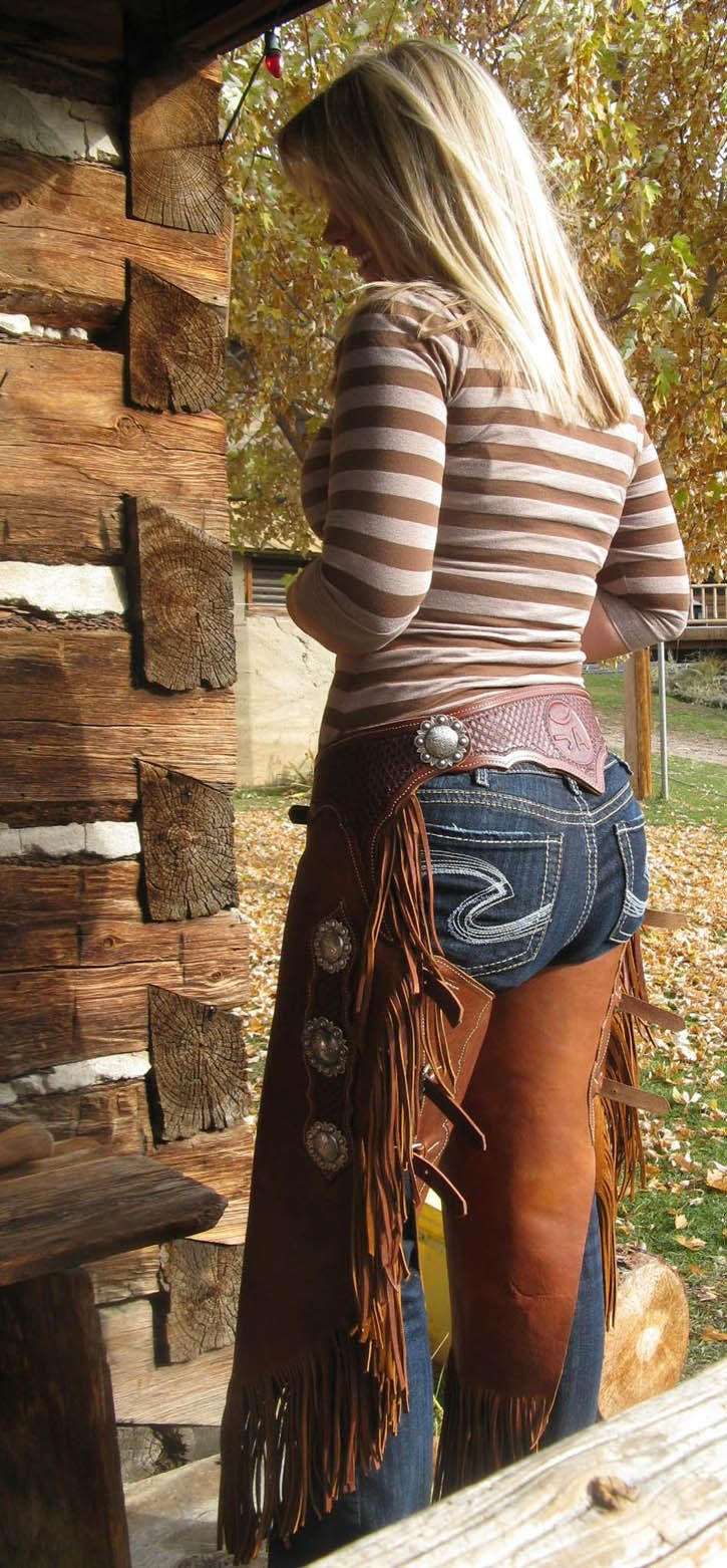 Hot country girls in chaps rather