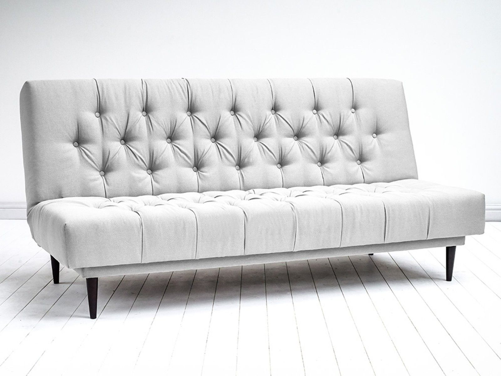 JACOB SOFA BED - Buttoned Chesterfield style Sofa Bed. Creating extra sleeping space in your home has never been easier or more stylish
