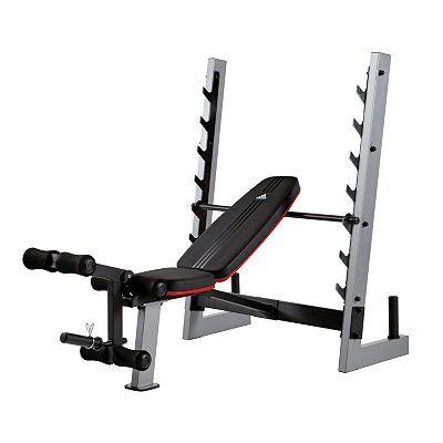 saltar Escalera fantasma  adidas Olympic Bench | Adjustable workout bench, Best gym equipment,  Olympic weights