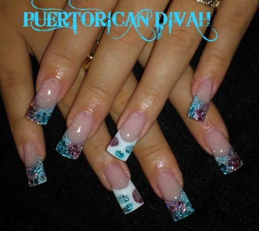 Acrylic nails by puerto rican divah nails pinterest puerto acrylic nails by puerto rican divah prinsesfo Gallery