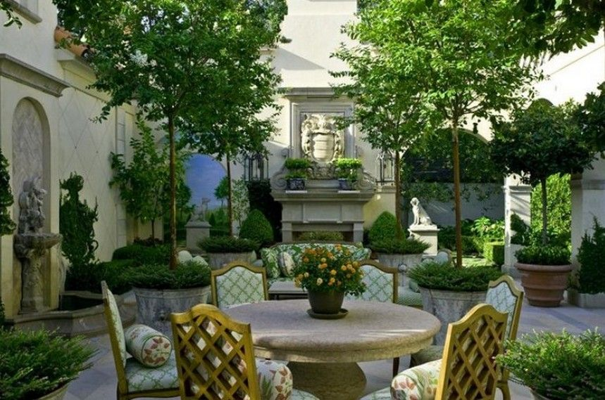 French Backyard Gardens
