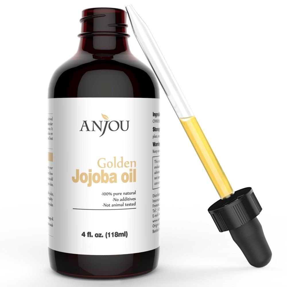 Jojoba Oil for Hair and Skin  Pure Virgin Cold Pressed