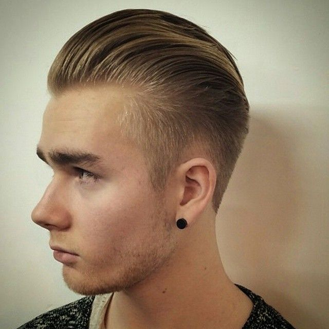 s haircut sides and back disconnected pomp with grade 4 back and sides by uk barber 3499