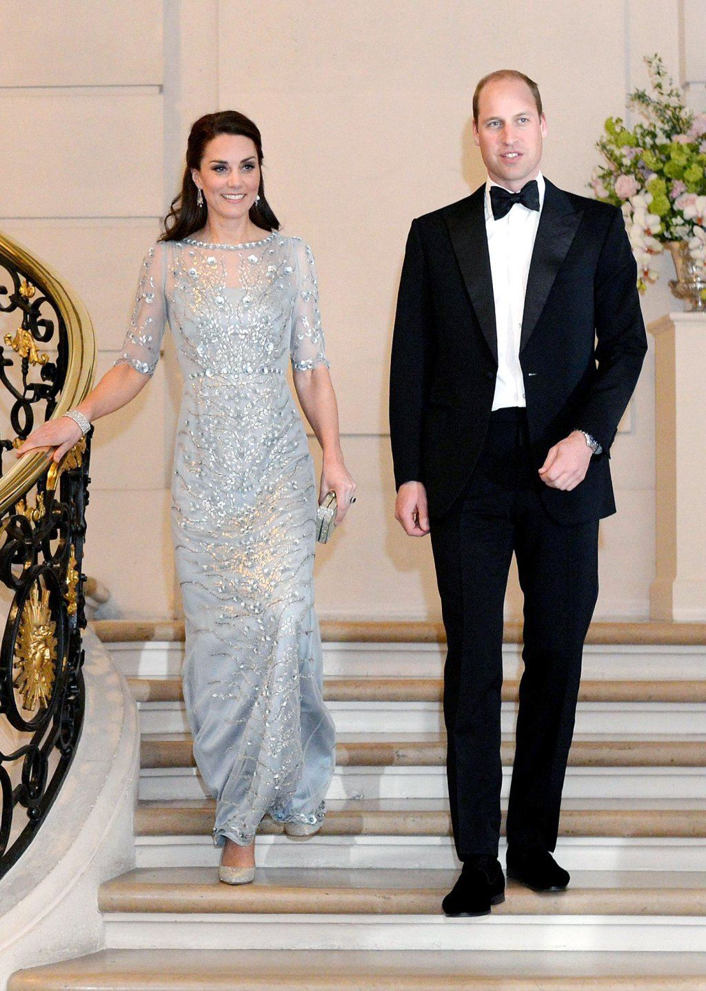 650f5503a See Princess Kate's Two Stunning Paris Looks in One Night! | William ...
