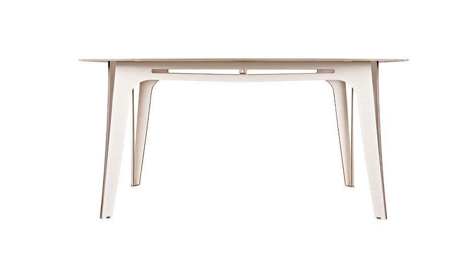 MONOQI   Tisch 1 + Accessories White