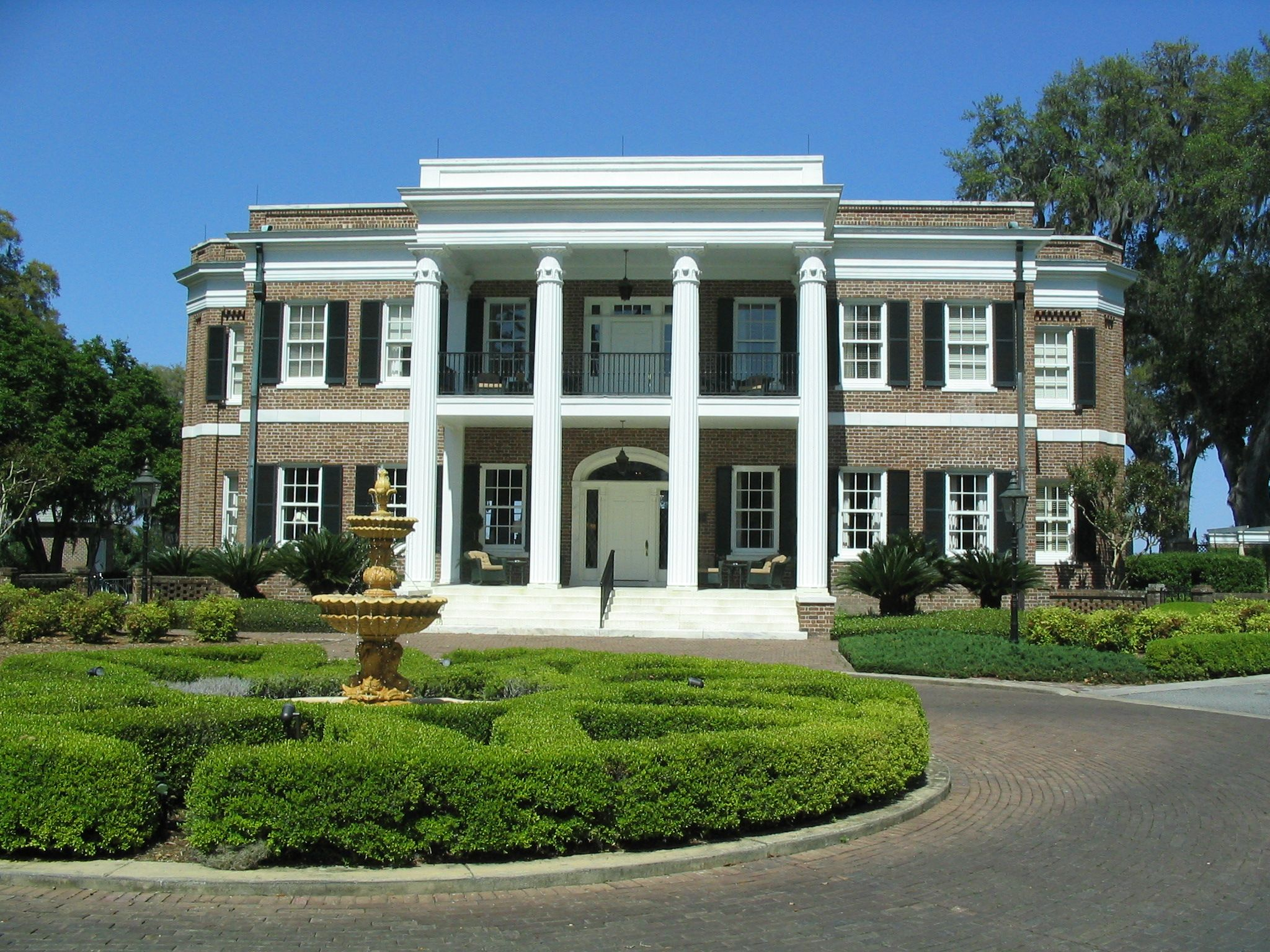 Henry Ford mansion at the Ford Plantation in Richmond Hill