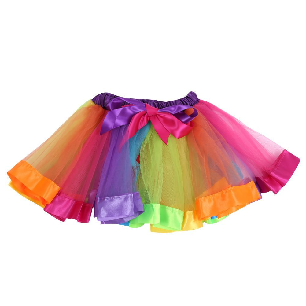 57acb48cca Awesome Kid Girls Rainbow Tutu Skirts Party Ballet Dance Wear Skirt  Pettiskirt Costumes 2-10 Years - $11.97 - Buy it Now!