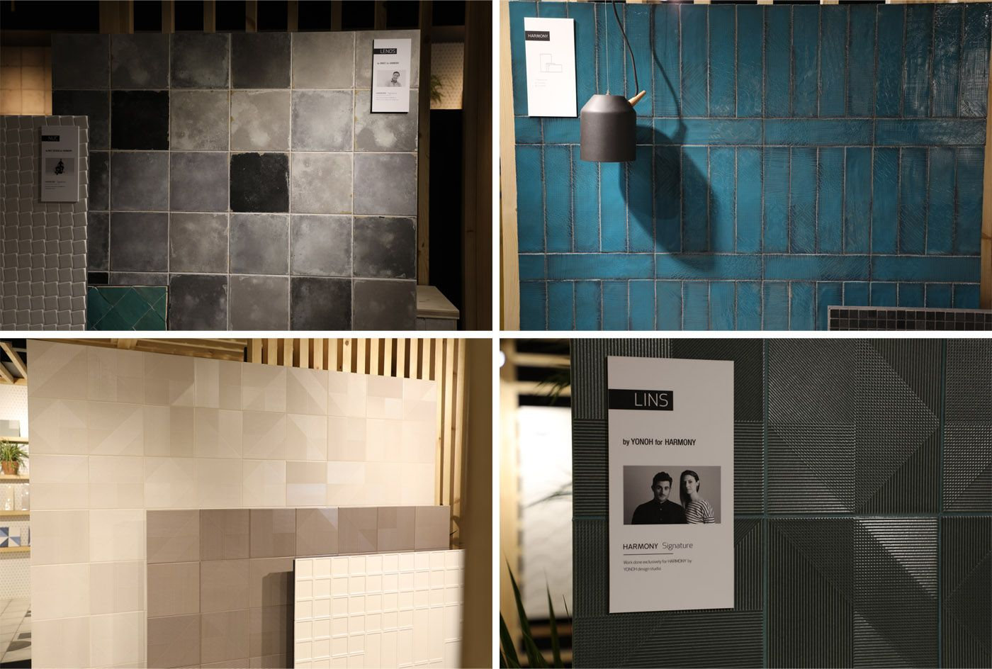 Lins, Lenos and Argila Pasadena are presented by Harmony, the tile ...