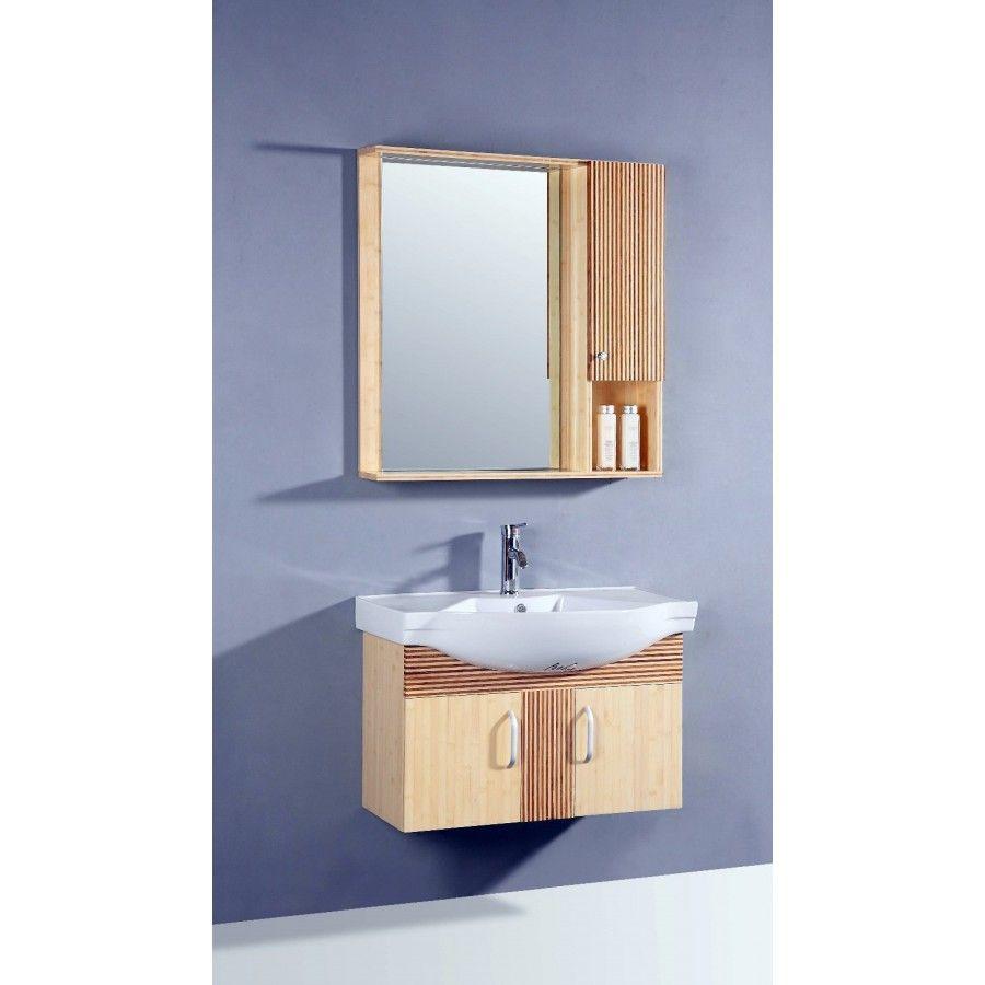 Legion Furniture 33 Single Bathroom Vanity with Mirror in