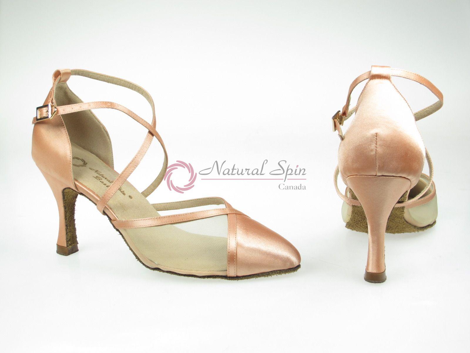 Natural Spin Basic Standard & Smooth Shoes(Closed Toe): L1305-05_FleshKS