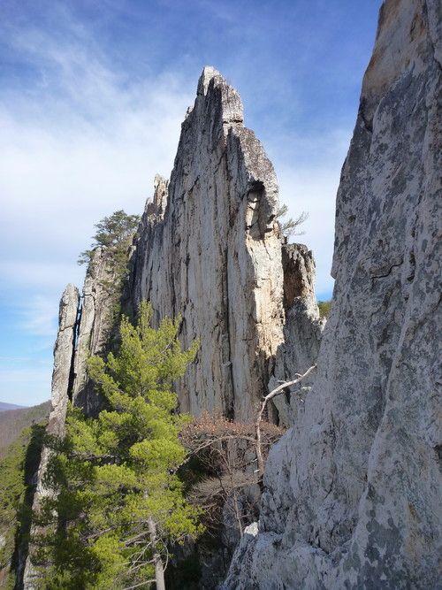Seneca Rocks WV | Rock Climbing in 2019 | Seneca rocks ...
