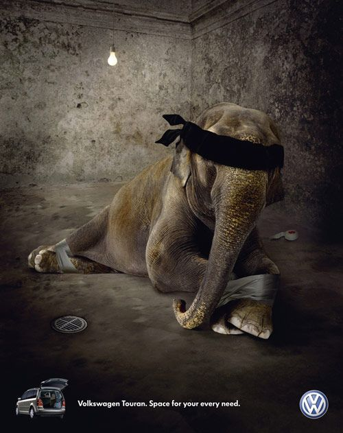Controversial print ads