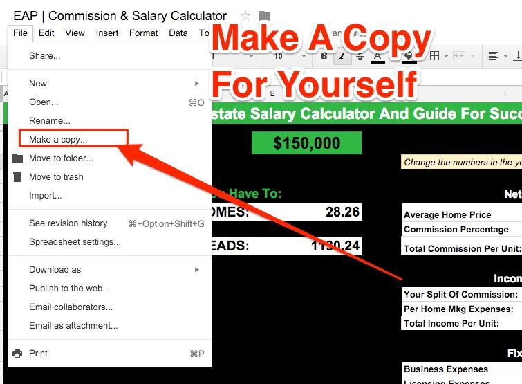 EAP Commission \ Salary Calculator Business ideas Pinterest - salary calculator
